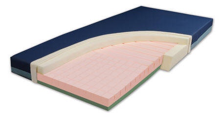 Rapid Deployment Bed Mattress CutAway