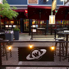 """""""The fencing turned out awesome...   It looks great and was crazy easy to put together""""  - Wally's Bar & Grill"""