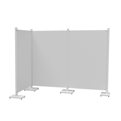 Temporary Partition Wall Example