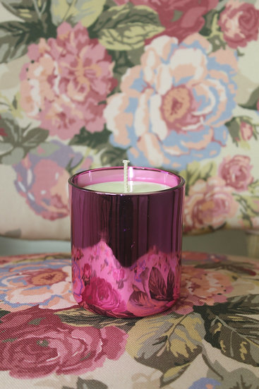 Pink Vogue Soy Wax Candle & Lid