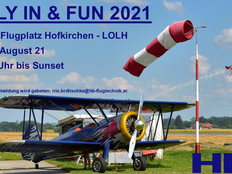 FLY IN & FUN 2021