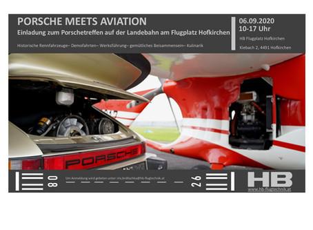 Porsche meets Aviation