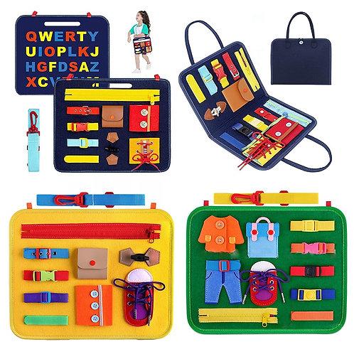 Sensory Board - Montessori Educational Toys