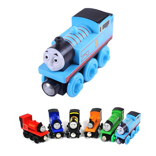Thomas and Friends Magnetic Wooden Trains -Sensory Educational Toys