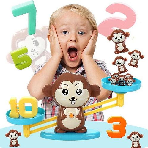 Monkey Match Balance Scale - Montessori Educational Toys