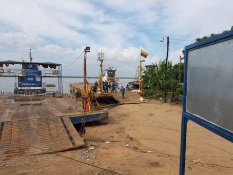 Cormagdalena da un parte de tranquilidad ante erosión en el puerto del ferry en Salamina