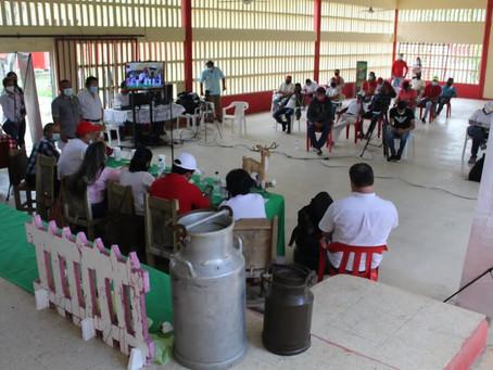 Inicia proyecto que le apuesta a la construcción de una cooperativa de lecheros en Sucre