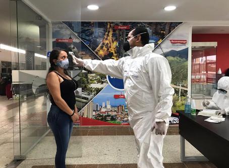 Así avanzan las operaciones en el aeropuerto Simón Bolívar, en Santa Marta