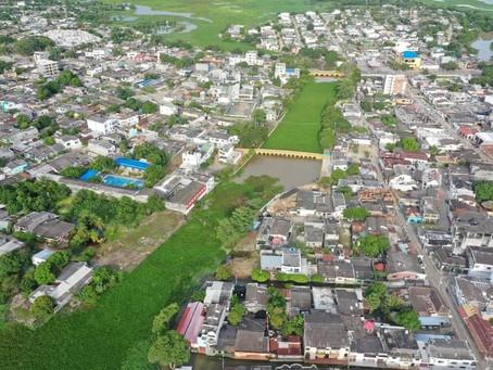 Anuncian recuperación del caño Chimalito, en el Centro Historico de Lorica - Córdoba