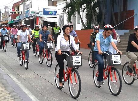 ¡De vuelta a la cicloruta!, se reactiva programa de bicicletas públicas en Sincelejo 