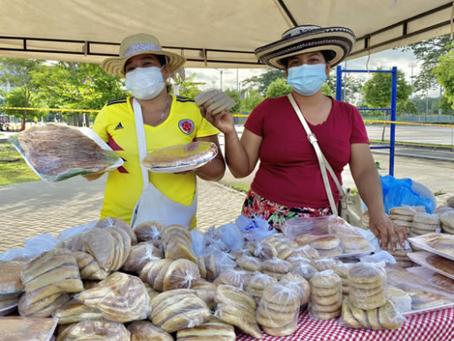 Con 26 millones, el campo monteriano alcanzó su meta en ventas en el 'Mercado Campesino'