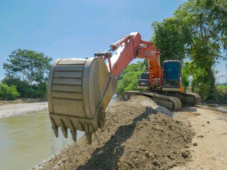 Así avanza la intervención del río Sevilla para mitigar inundaciones en Zona Bananera- Magdalena