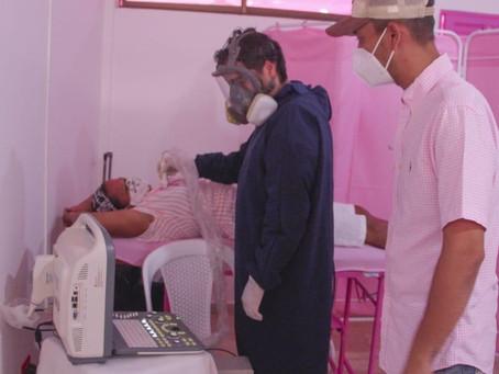 Inauguran la Sala Rosa en la lucha contra el cáncer de mama en Coveñas
