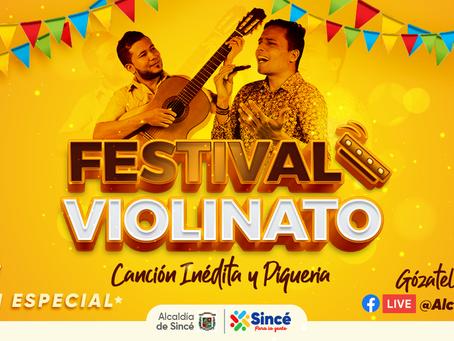 Sincé alista las violinas para la edición especial de su festival