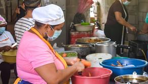 Los fogones atizados en Pital de Megua te esperan con el Festival del Pastel