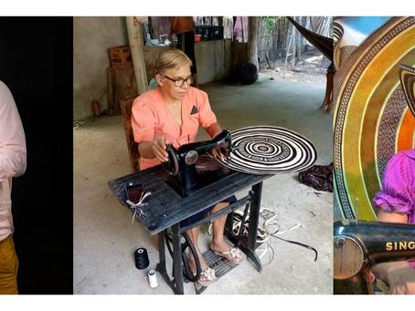 Los artesanos detrás del 'Encanto' del sombrero vueltiao en Disney