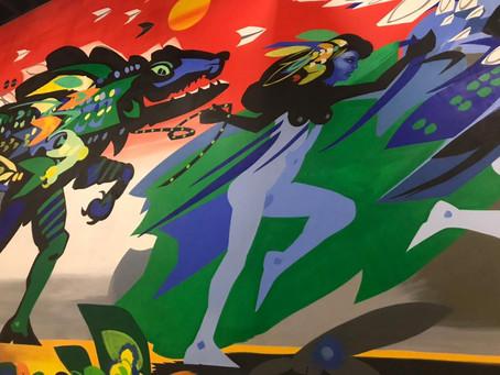 Un viaje por el imaginario Caribe a través de la obra de arte 'Se va el caimán' de Alejandro Obregón