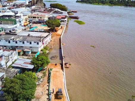 El Banco - Magdalena, en alerta tras problemas erosivos que podrían traducirse en inundaciones