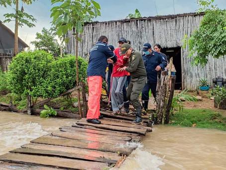 Invierno deja más de 1700 familias damnificadas en Coveñas; autoridades declaran calamidad pública