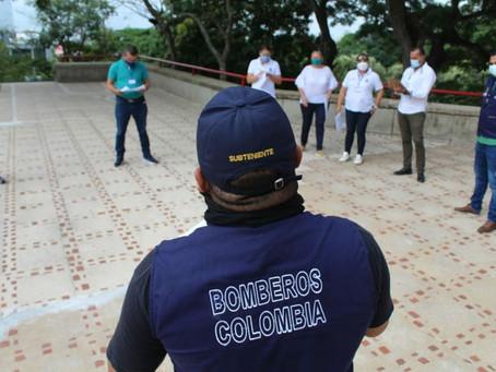Simulacro Nacional se desarrolló sin evacuaciones en Sucre