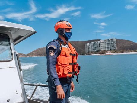 Controles en ríos y balnearios de Santa Marta concluyeron con 10 comparendos