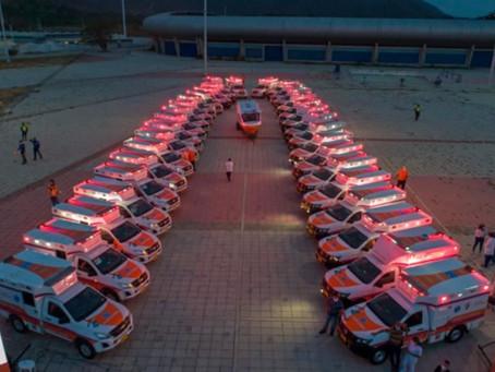 Comunidad por comunidad, Magdalena entrega ambulancias y equipo de salud