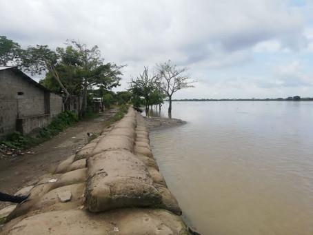 Hay alerta roja en la subregión de la Mojana, en Sucre, por nivel del río Cauca