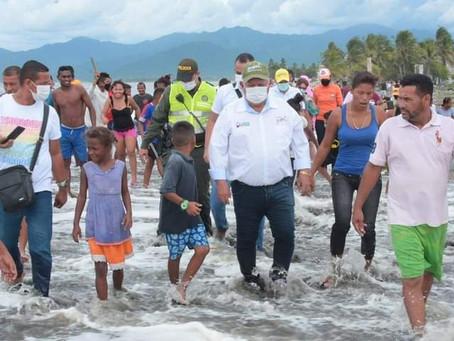 En Imagenes|| Así va la entrega de ayudas a familias damnificadas por IOTA, en Ciénaga - Magdalena