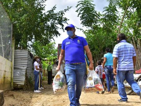 Comunidades indígenas recibieron suministros de agua en Sucre