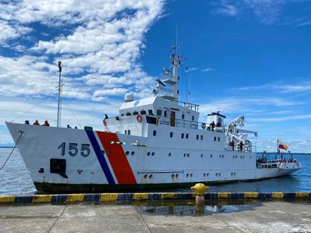 Buque ARC 'Providencia': 40 años navegando Colombia