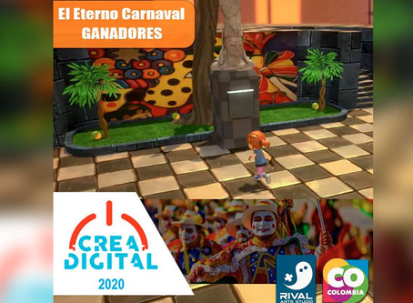 "Videojuego ""Eterno Carnaval"" gana convocatoria Crea Digital"