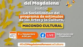 """Hoy, lanzamiento del portafolio de estímulos """"Macondo Cultural"""",  en Magdalena"""