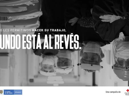 ¿Cuándo #ElMundoEstáAlRevés? Descúbrelo en la nueva campaña humanitaria de la Cruz Roja