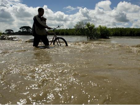 Por rompimiento de jarillón en el río Cauca, 7 municipios de Sucre se encuentran en alerta roja