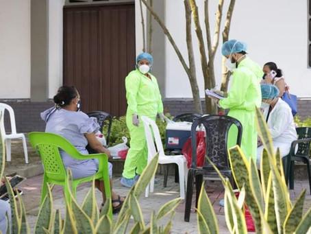 Hoy, municipio de Galapa realiza jornada masiva de toma de pruebas de Covid-19