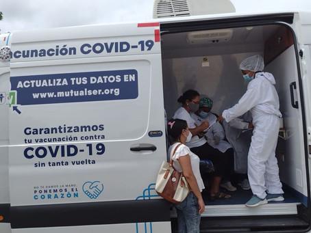 Aumentan los puntos de vacunación con unidades móviles en Sincelejo