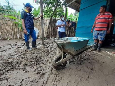 411 familias afectadas deja el desbordamiento del río Guachaca, en Santa Marta