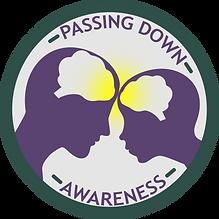 Passing Down Awareness Logo Parent Child Wisdom Transfer