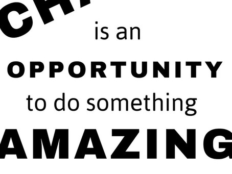 Change is an Opportunity to Do Something Amazing…All Around #IMMOOC