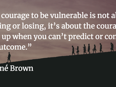 Where Vulnerability Becomes a Liability (hint: it's the place where courage is born)