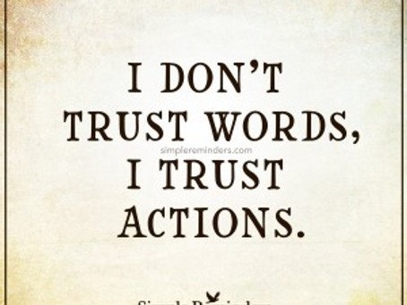 When Doing Nothing Causes Distrust