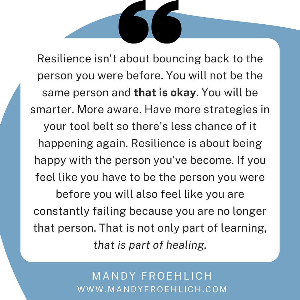 Resilience quote