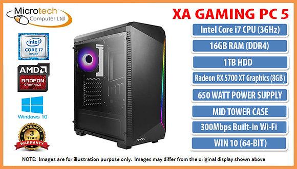 XA Gaming PC 5