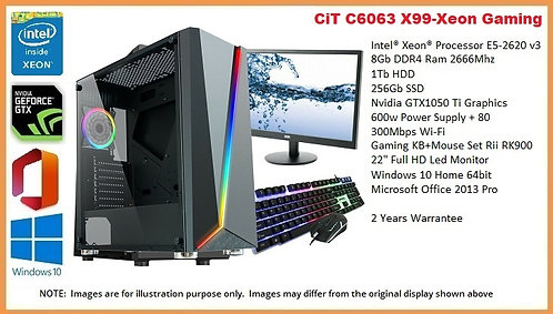CiT C6063 X99-Xeon Gaming