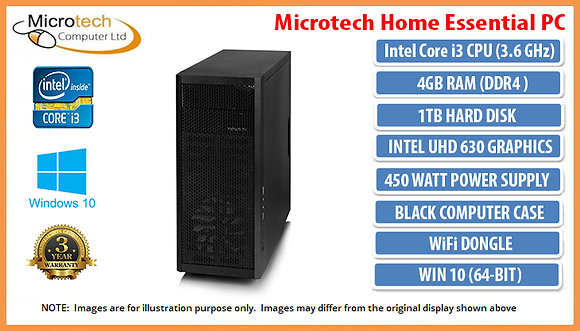 Microtech Home Essential PC