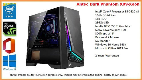 copy of copy of Antec Dark Phantom X99-Xeon Gaming