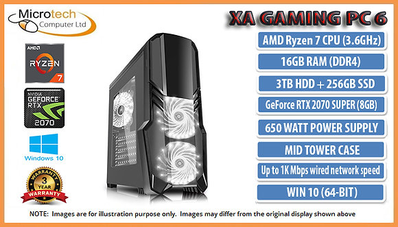 copy of XA Gaming PC 6