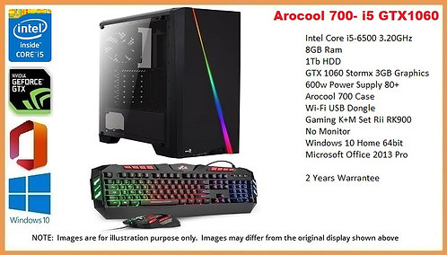 Arocool 700- i5 6th Gen GTX 1060