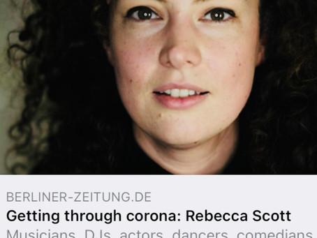 Our Directress in the Berliner Zeitung