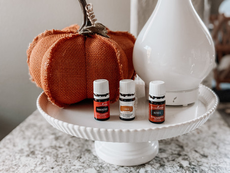 Fall Essential Oil Blends | Blogtober